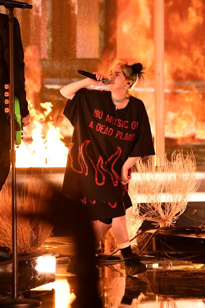 Billie Eilish's 2019 American Music Awards Performance Video