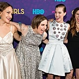 The Girls Cast Got the Giggles at the Season 3 Premiere
