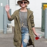 On Wednesday, Julianne Hough was all smiles in LA.