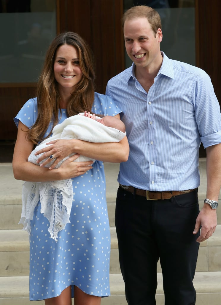 The proud parents were beaming when they introduced their son, Prince George, to the world on July 23, 2013.