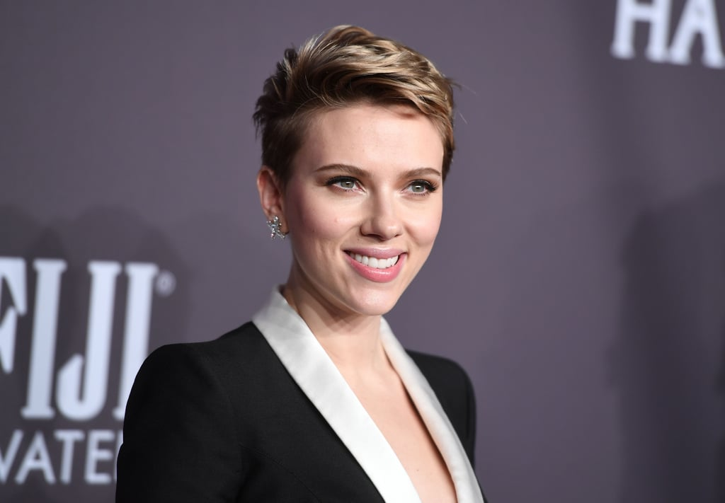 "Scarlett Johansson looked happy and healthy when she attended the amfAR New York Gala on Wednesday. The actress was all smiles as she made her first red carpet appearance since news broke that she was ending her two-year marriage to Romain Dauriac. Although the former couple has appeared in public together since their split, Scarlett's date for the event was extra special: her mom, Melanie Sloan.  During the event, Scarlett opened up about motherhood and how she's been struggling to balance her work life while raising her 2-year-old daughter Rose, whom she shares with Romain. ""I don't profess to know anything about parenting, anything more than anybody else,"" she said. ""[But] being a working mom is an incredible challenge, and it's an incredible gift. I have a lot of huge admiration for working moms. I'm barely, barely holding it together."""