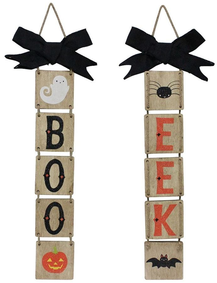 Boo Eek Reversible Wall Decor