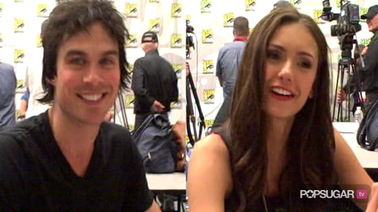 Video of The Vampire Diaries Cast at Comic-Con