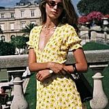 FAITHFULL THE BRAND La Belle Floral Dress