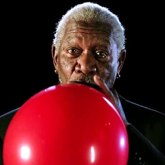 Morgan Freeman's Voice on Helium | Video