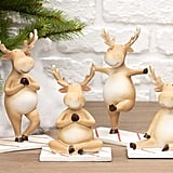 Buy a Set of Four Yoga Reindeer Here