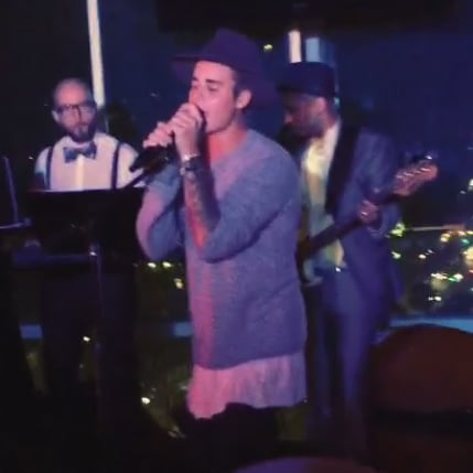 "Justin Bieber Singing Boyz II Men ""I'll Make Love To You"""