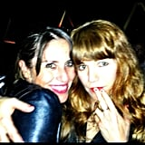Soleil Moon Frye met up with her long-time pal Jenny Lewis. Source: Instagram user moonfrye