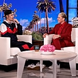 Justin Bieber Talks About Wife Hailey on The Ellen Show