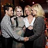 Rami Malek, Lucy Boynton, January Jones, and Judith Light at The Politician Premiere