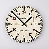 The Land of Nod Tube Station Wall Clock