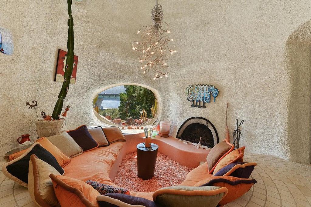 Real-Life Flintstone House