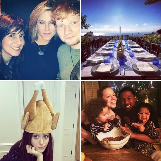 Celebrity Thanksgiving Instagram Pictures 2013