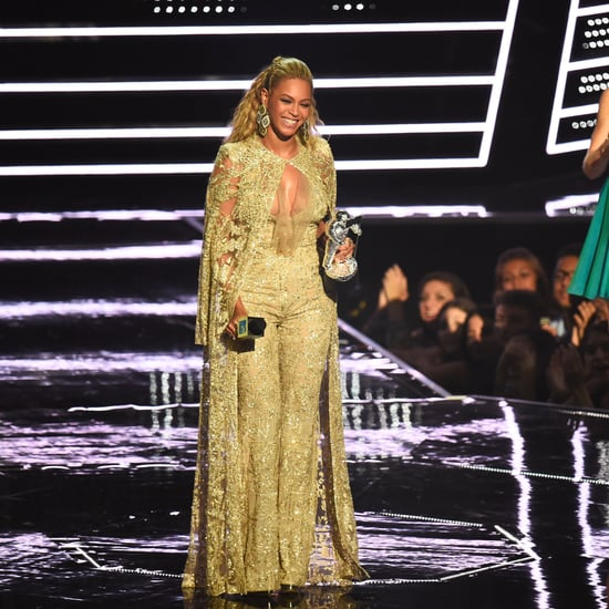 Laurie Hernandez Meeting Beyonce at MTV VMAs 2016