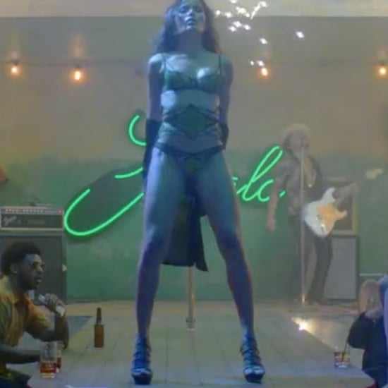Freida Pinto Pole Dancing in Bruno Mars Gorilla Music Video