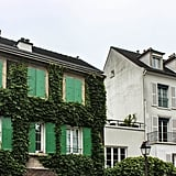 To me, the entire neighborhood of Montmartre was utterly endearing. I mean, just look at that unruly ivy!
