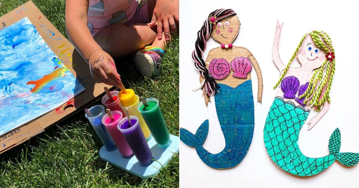 Family Camp Is in Session: 22 Easy Summer Crafts You Can Make With Your Kids at Home