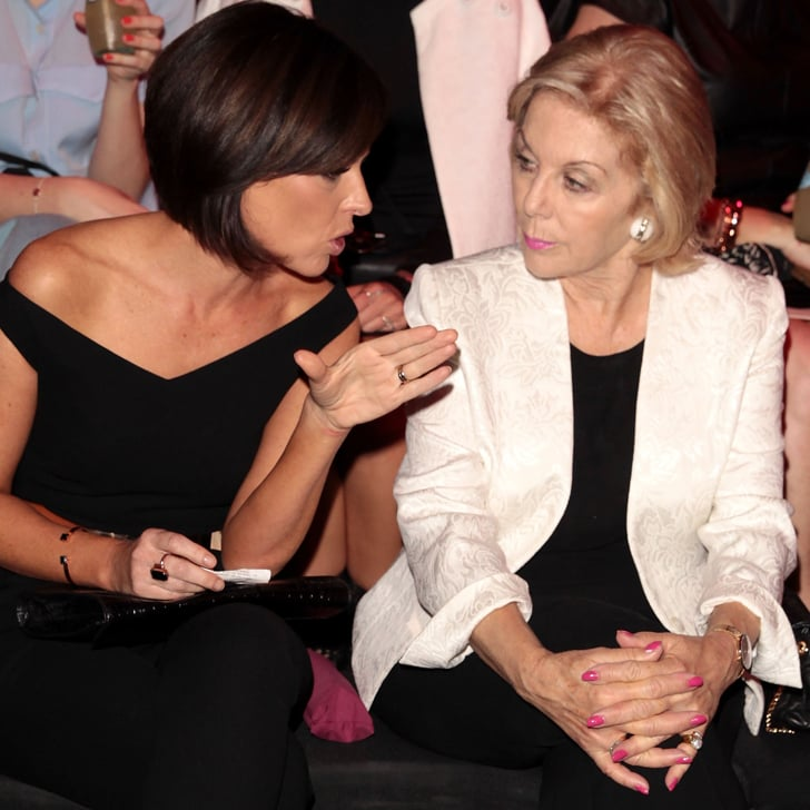 Natarsha Belling and Ita Buttrose — Day 1