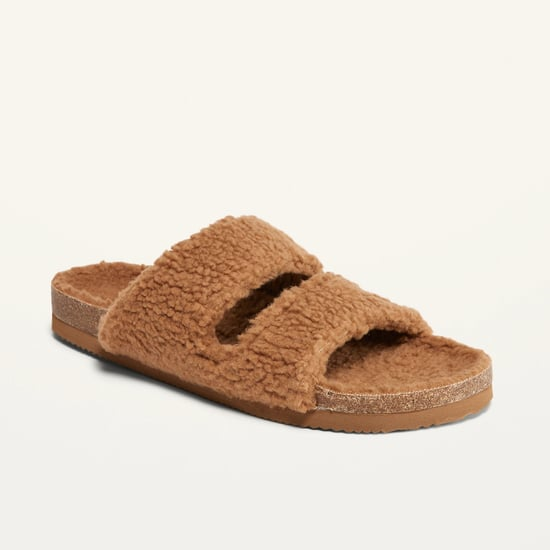 Cozy Sherpa Sandals From Old Navy | 2021