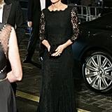 Kate wearing Diane von Furstenberg in November 2014.