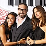 With Annie Ilonzeh and Pierre Morel.