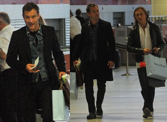 Pictures of Jude Law and Jeremy Gilley in Paris, Casting News For Sherlock Holmes 2 Noomi Rapace Cast in Lead Female Role