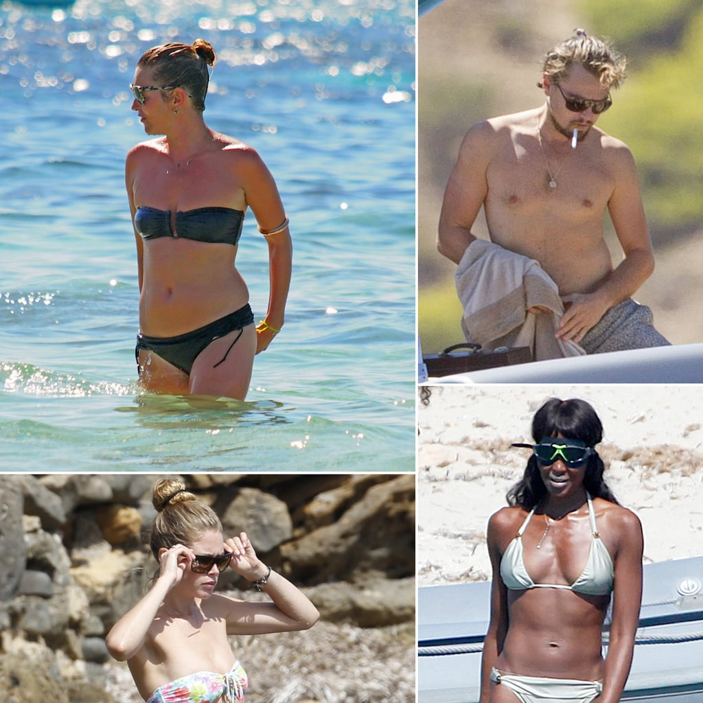 Celebrity Vacations in Spain 2013 | Pictures