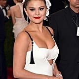 Selena Gomez Hair and Makeup 2015 Met Gala