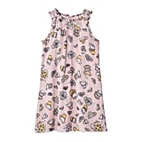 Girls' Blush Tea Party Printed Dress ($20)