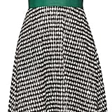 Lela Rose Gingham Crinkled-voile Midi Dress