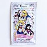 Each mask features Sailor Moon, Sailor Mercury, Sailor Mars, Sailor Venus, and Sailor Jupiter on the wrapping.