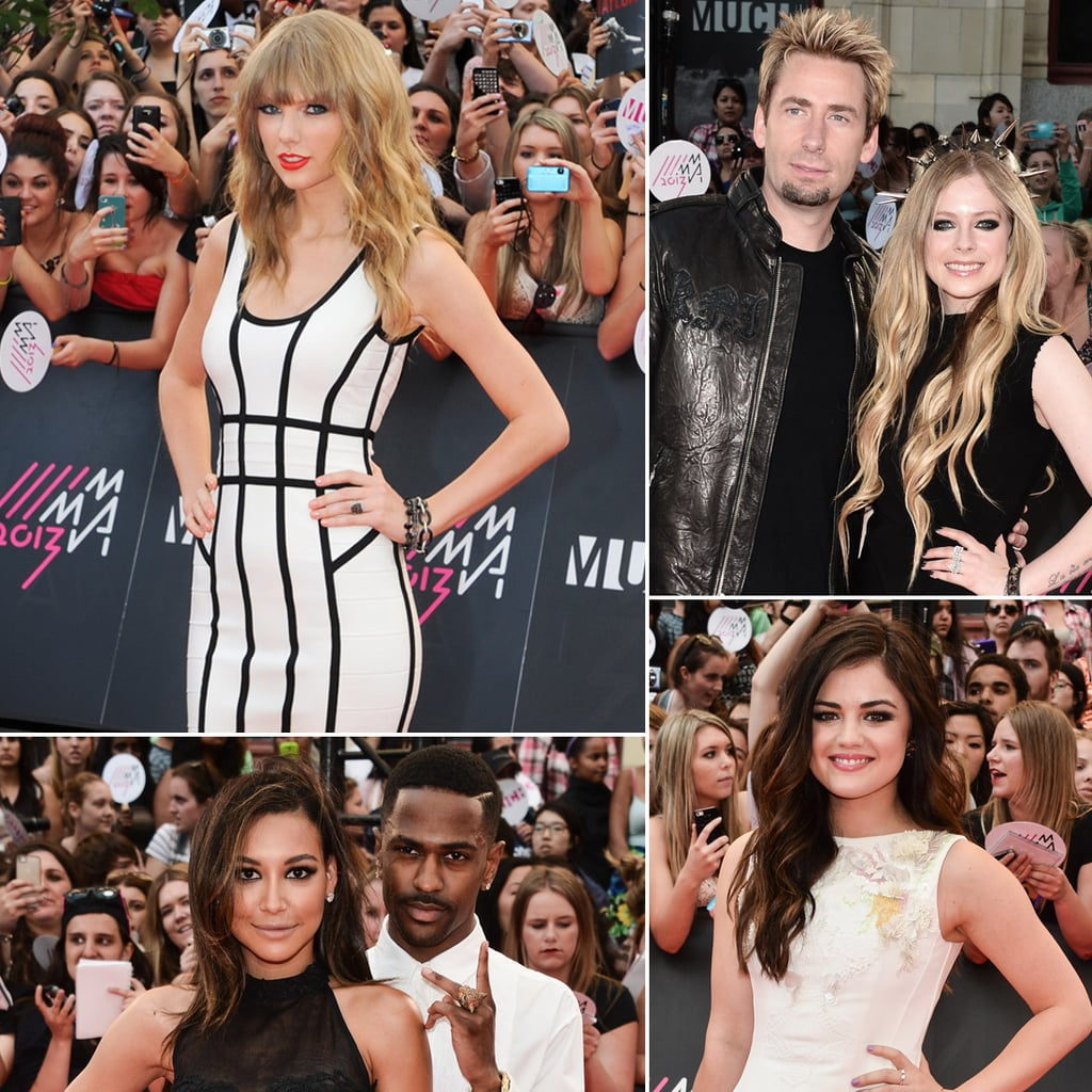 Celebrities at MuchMusic Video Awards 2013 Pictures
