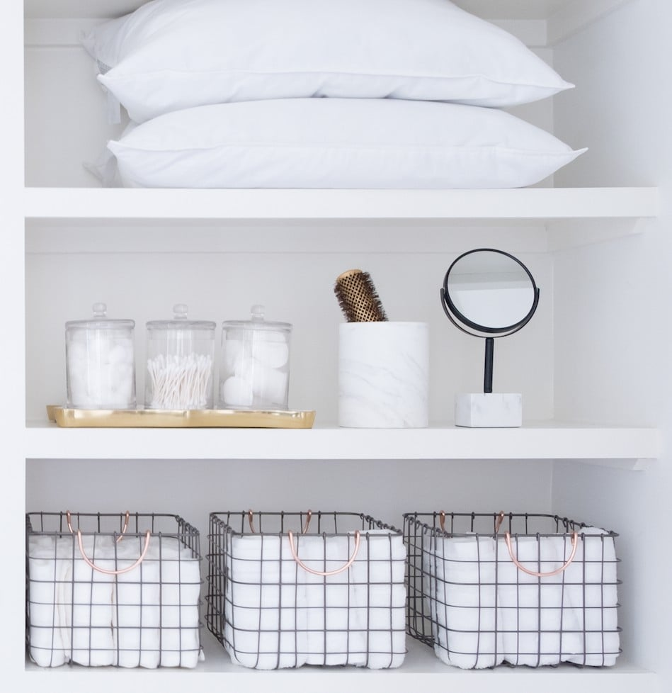 This Is What an Organised Linen Closet Should Look Like