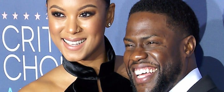 Kevin Hart and Eniko Parrish Aren't Afraid to Share the Love
