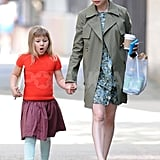 Michelle Williams was spotted out in Brooklyn with her daughter.