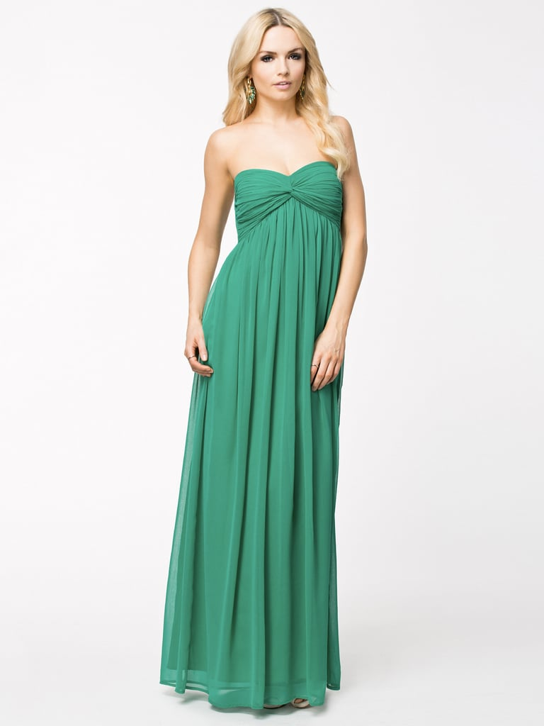 NLY Trend dreamy strapless maxi dress (£48)