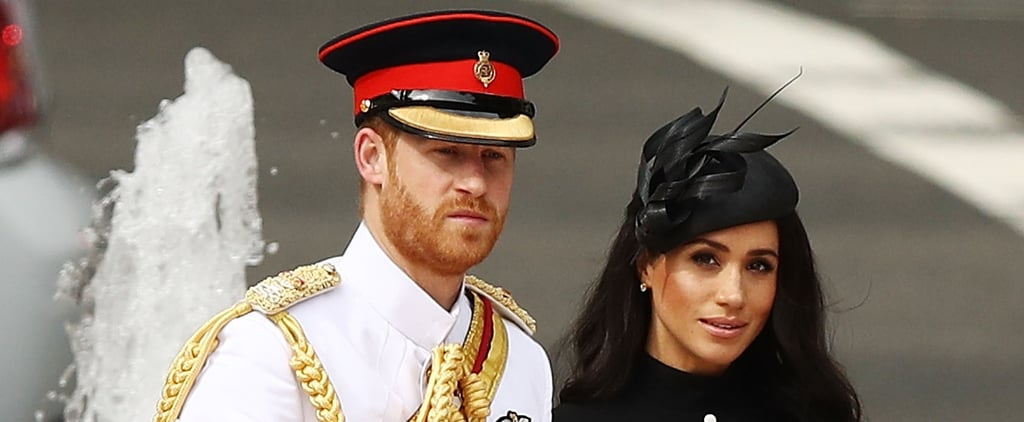 Prince Harry and Meghan Markle at ANZAC Memorial in Sydney