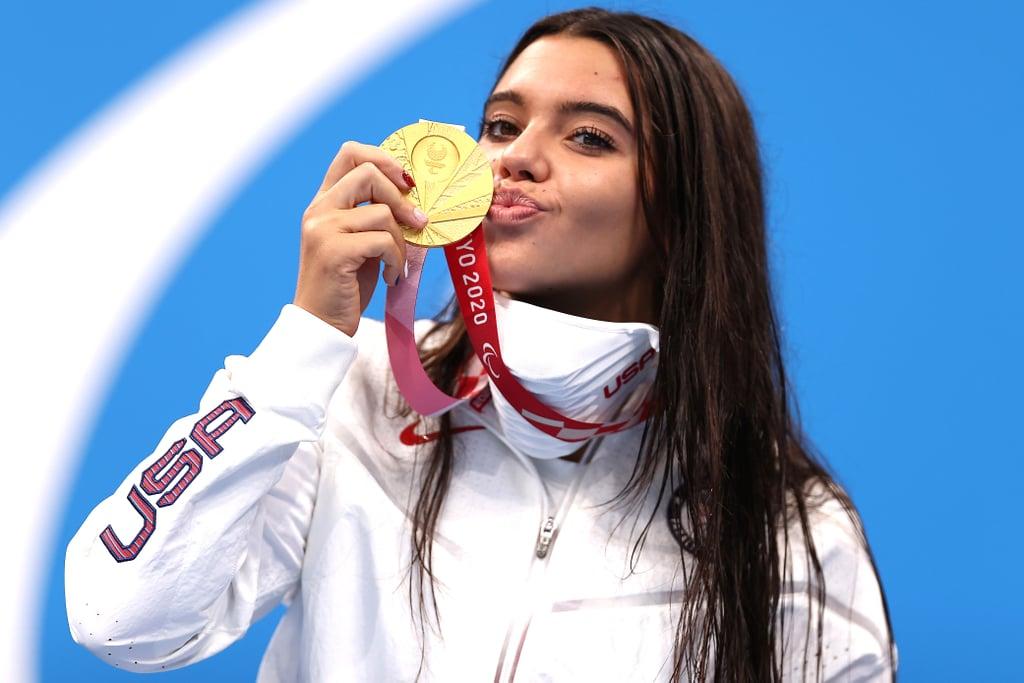 Paralympic Swimmer Anastasia Pagonis's Bubbly TikToks