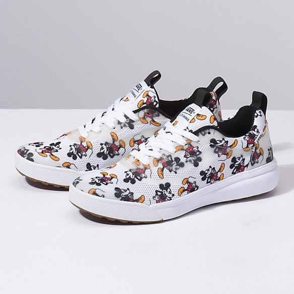 b24119e515f Disney x Vans Ultrarange Rapidweld in Mickey Mouse White