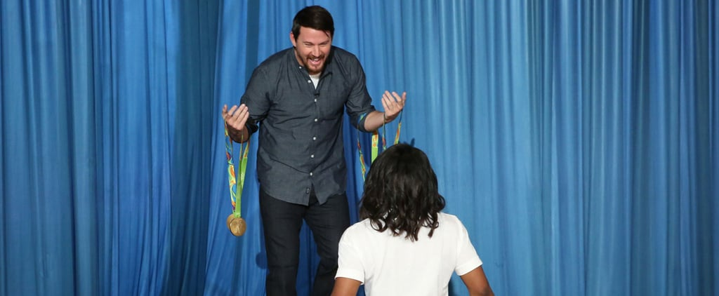 Channing Tatum Freaking Out While Meeting Simone Biles For the First Time Is All of Us