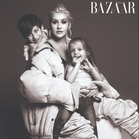 Musicians With Their Families in Harper's Bazaar Sept. 2018