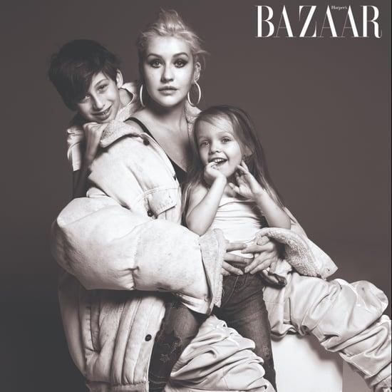 Musicians With Their Families in Harper's Bazaar Sept. 2018