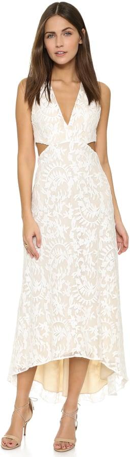 Alice + Olivia Juelia Maxi Cutout Dress ($484)