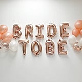 Rose Gold Bridal Shower Balloon Kit