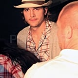 Ashton Kutcher Preps For a Return to His Runway Roots