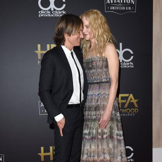Nicole Kidman and Keith Urban Hollywood Film Awards 2018
