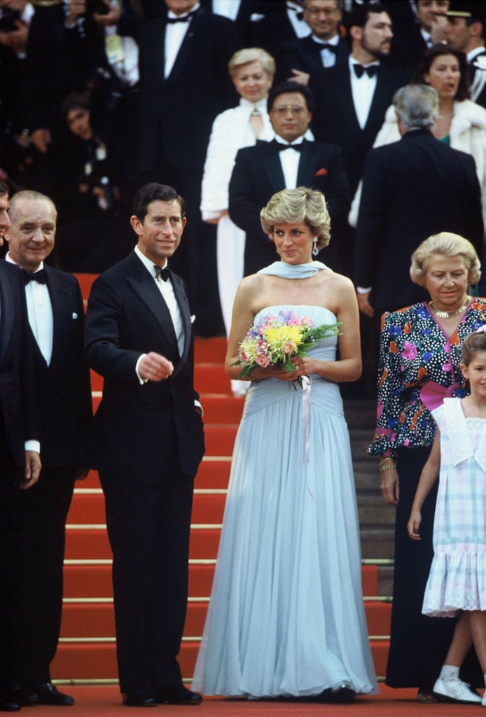 All eyes were on the royal couple at the Cannes Film Festival in 1987.