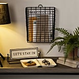 Black Wire Wall Storage