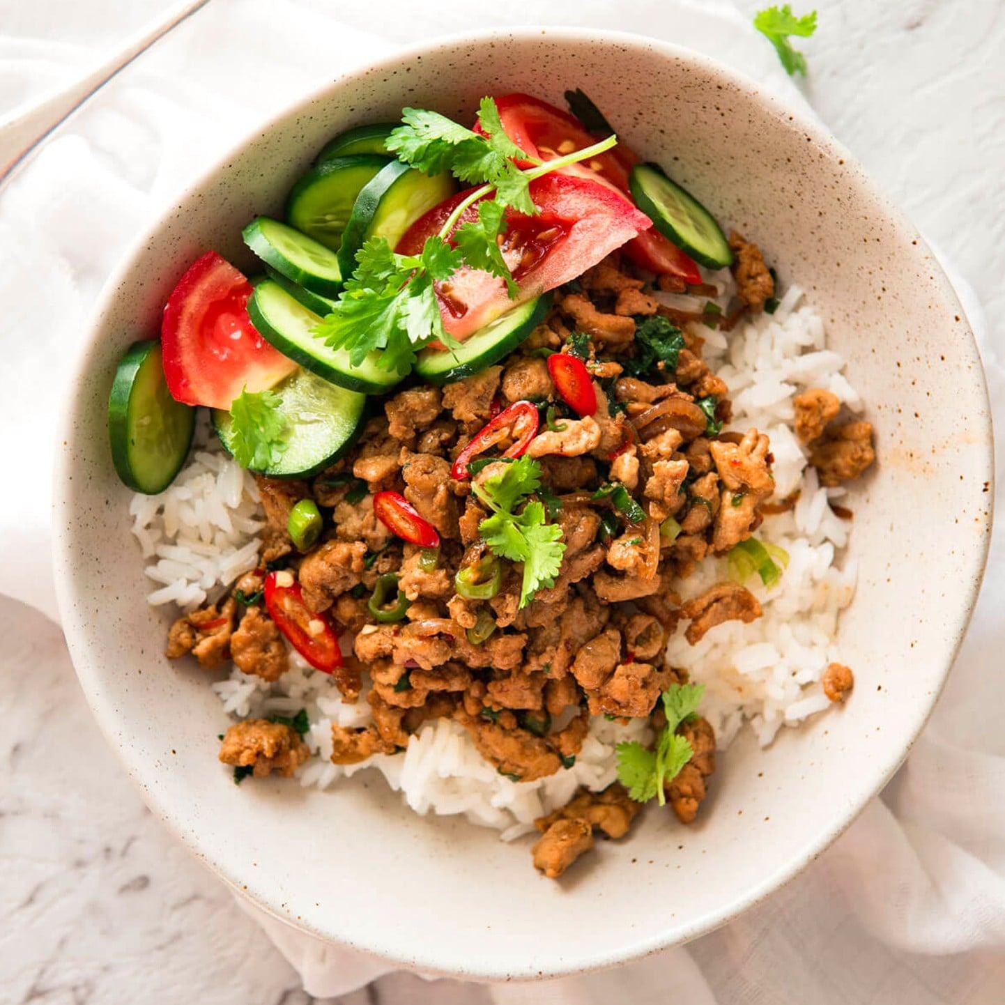 Healthy ground chicken recipes popsugar fitness forumfinder Gallery