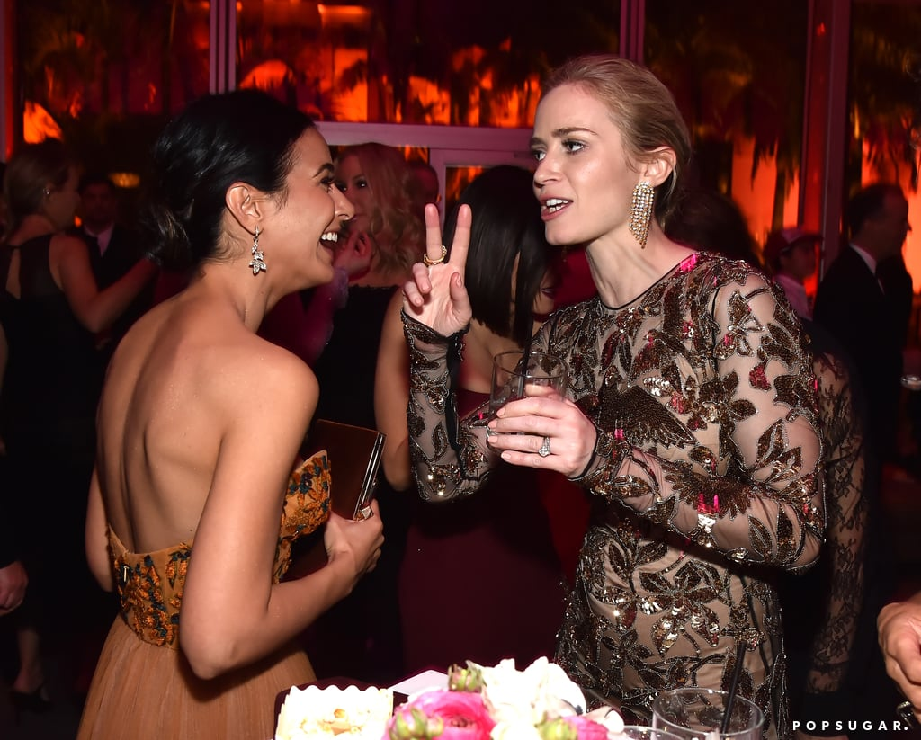 Pictured: Emmanuelle Chriqui and Emily Blunt | Best Pictures From ...